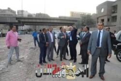وزير التنمية المحلية ومحافظ الجيزة يتفقدان المحاور المرورية الجارى تطويرها بالحافظة
