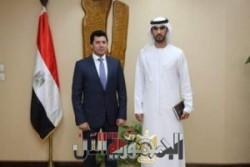 وزير الشباب والرياضة يناقش استعدادات ماراثون زايد الخيري