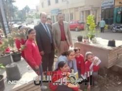القناوى والشبراوى يشاركان المستقبل بالزرقا فى مبادرة أزرع شجرة تبنى مستقبل
