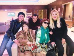 فريق نساء من ذهب يطير الى بيروت لتصوير مشاهد المسلسل