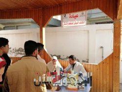 """""""عوض""""تتابع القافلة الطبية العلاجية بقرية الرياض"""