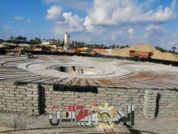"""بالصور…""""نور الدين""""استكمال مشروع الصرف الصحي بمصيف بلطيم"""