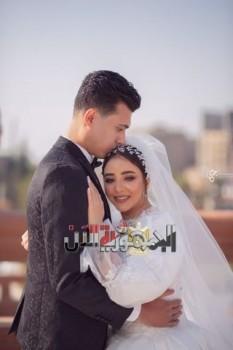 نجوم الفن والقيادات الشعبية في حفل زفاف حسام حسن